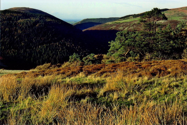 Sulby Glen Road - Mount Karrin and Slieu Managh