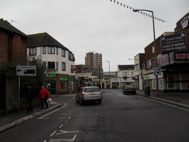 A dull January morning in London Road