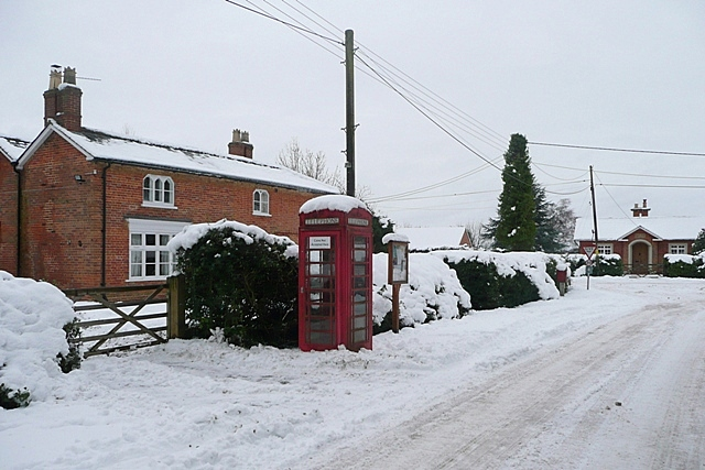 Stratfield Saye phone box