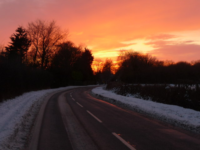 Grateley - Winter Sunset
