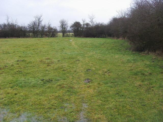 Footpath to Blackthorn Bridge