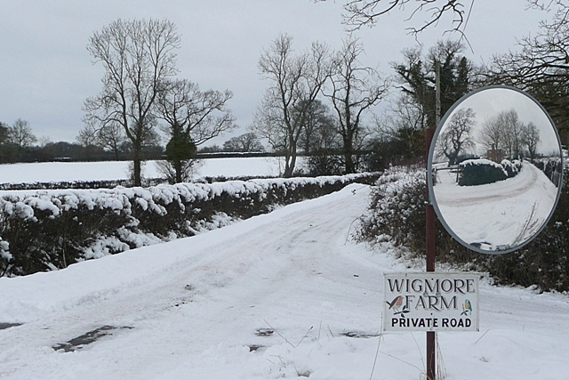 Entrance to Wigmore Farm
