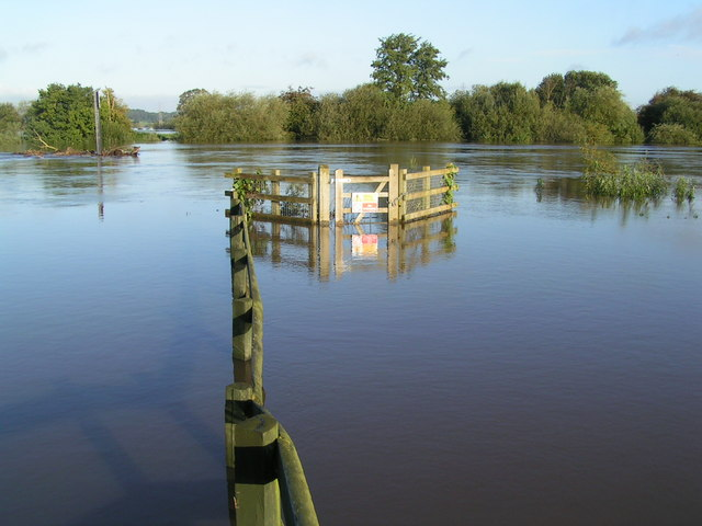 Flooding at the Red Lion