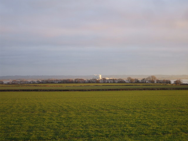 View from the A48 near Stroat