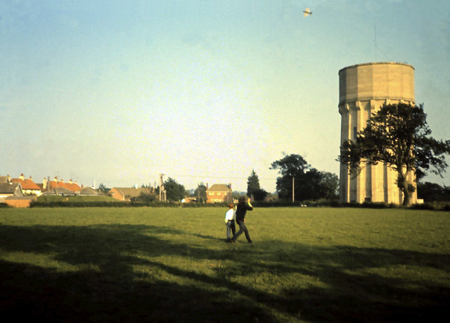 Control line flying on Sax Rec, about 1966
