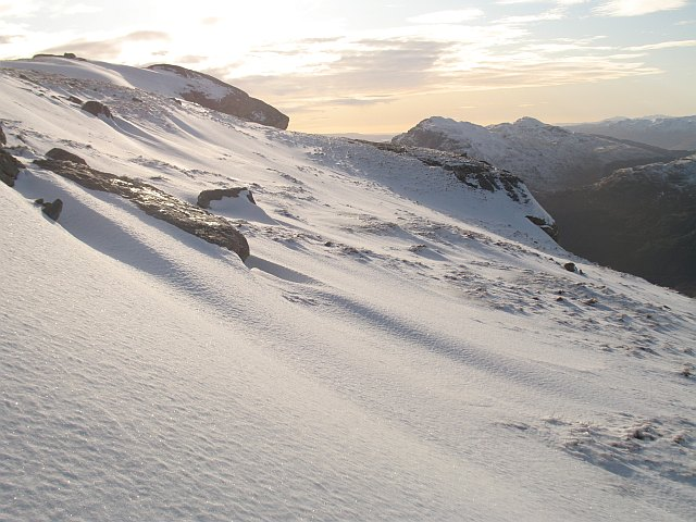 Western slopes of Beinn Ime