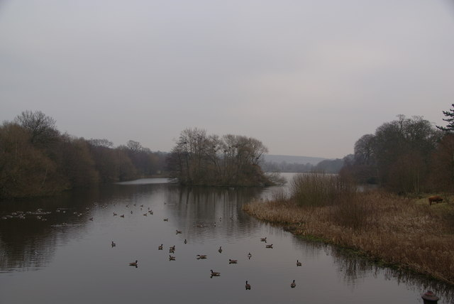 Lower Lake, Bretton Country Park