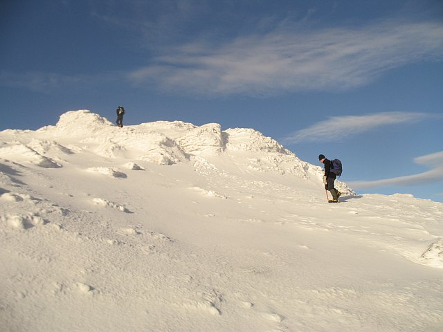 Approaching the summit, Beinn Ime