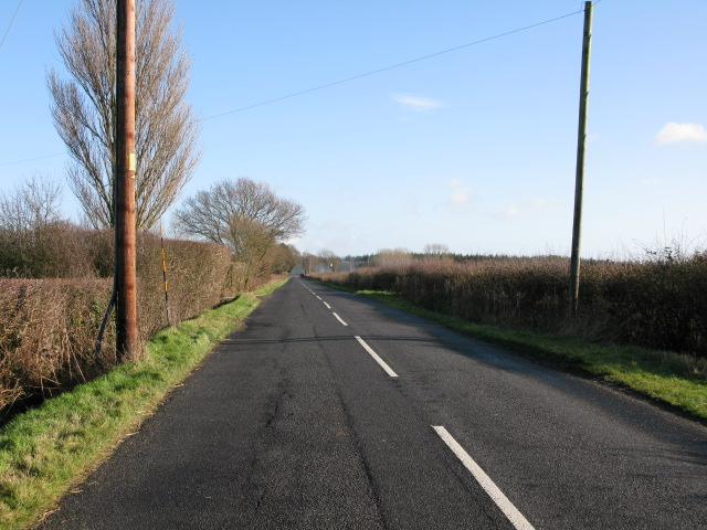 Looking E along Frith Road