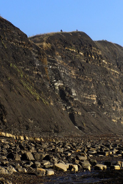 Cliffs west of Cuddle