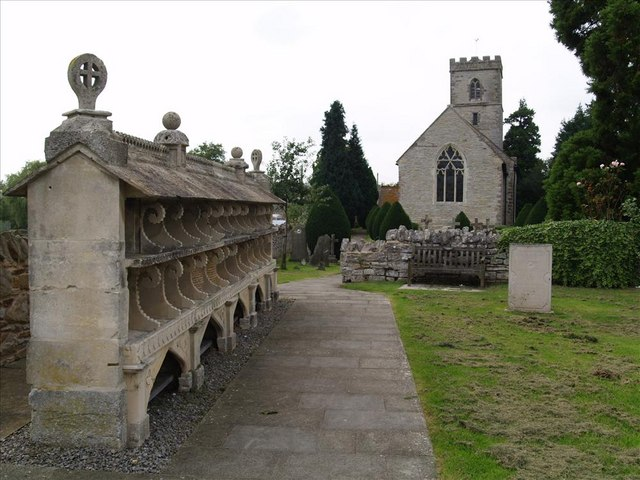 Hartpury church beehives