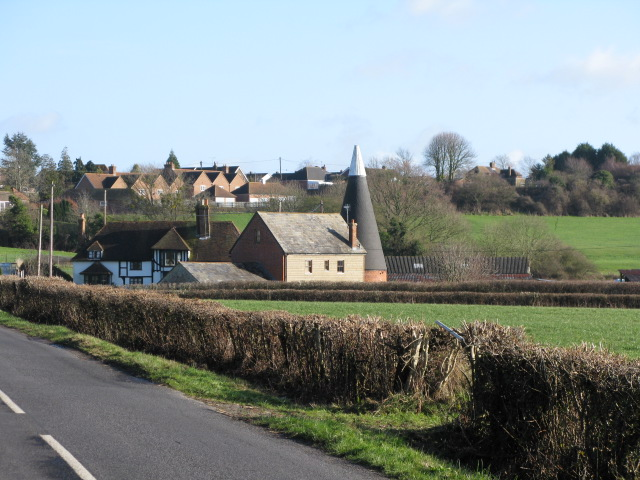 Poulton Manor Farm from Frith Road