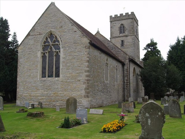 Hartpury church
