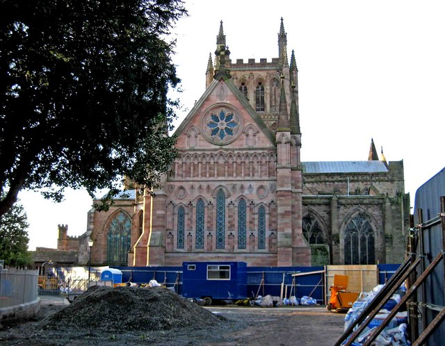 Hereford Cathedral (east end)