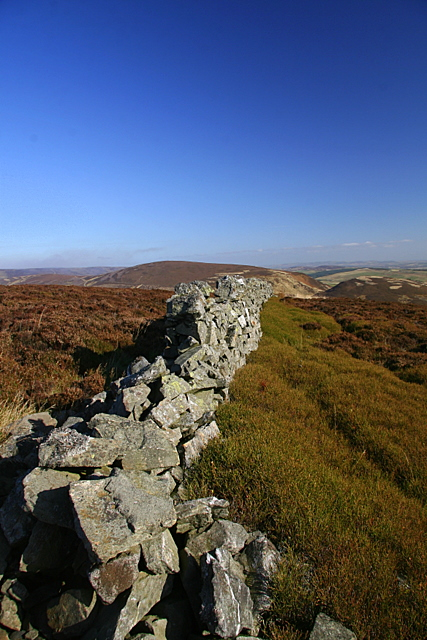 Dry stane dyke, St. Arnold's Seat