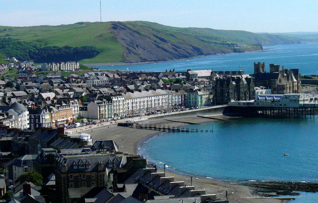 Aberystwyth town scene