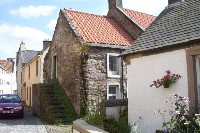 Houses in West Green, Culross