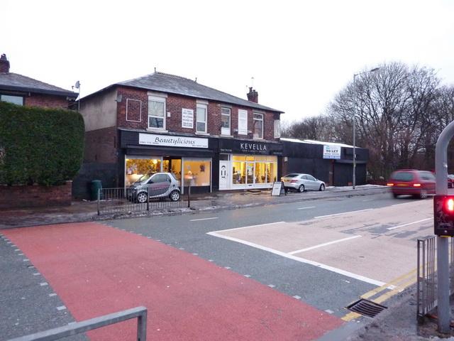 Shops on Bury New Road, Prestwich