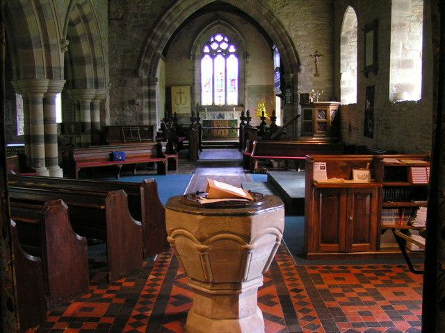 Yarpole church