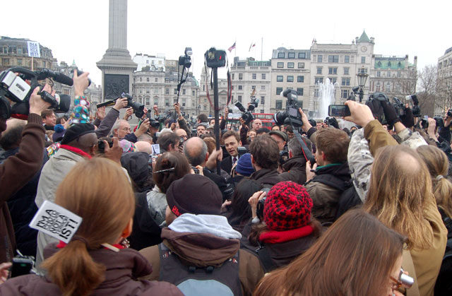 Photographers mass protest against police harassment on 23 Jan 2010 (3)