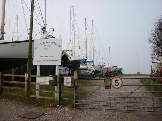 Glasson Sailing Club ....