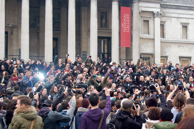 Photographers mass protest against police harassment on 23 Jan 2010 (11)
