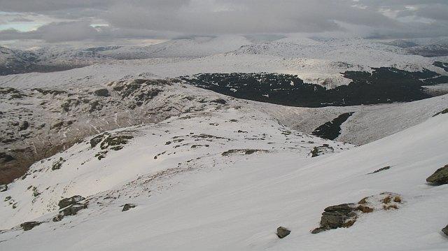 North ridge of Beinn Chorranach