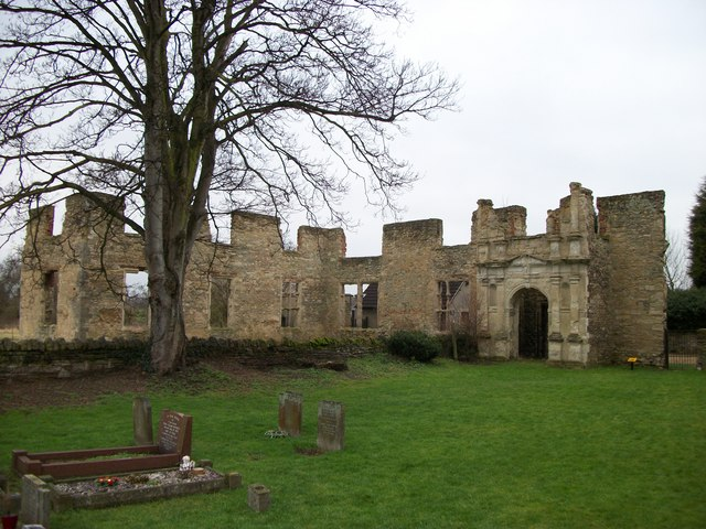 Ruins of Hillersden Mansion Elstow