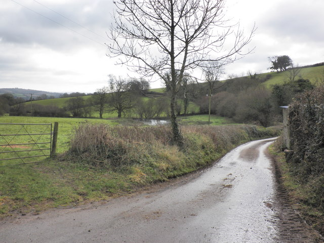 Access road to Greenslinch