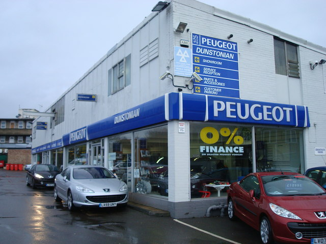 Dunstonian Garage, Petts Wood