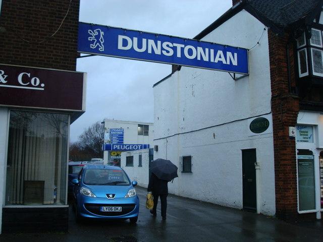 Dunstonian Garage, Petts Wood