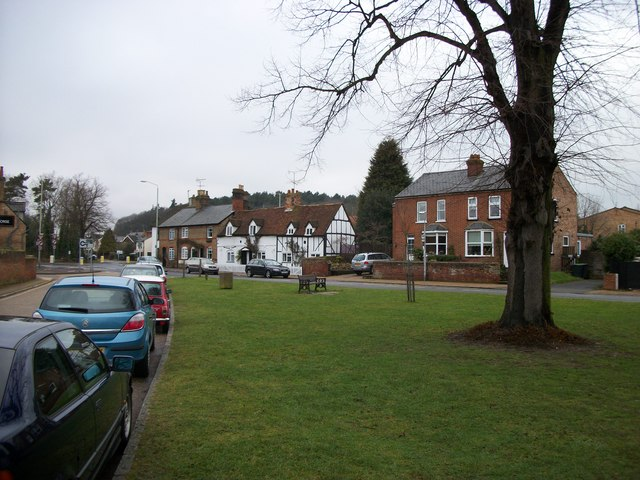 Clophill village green