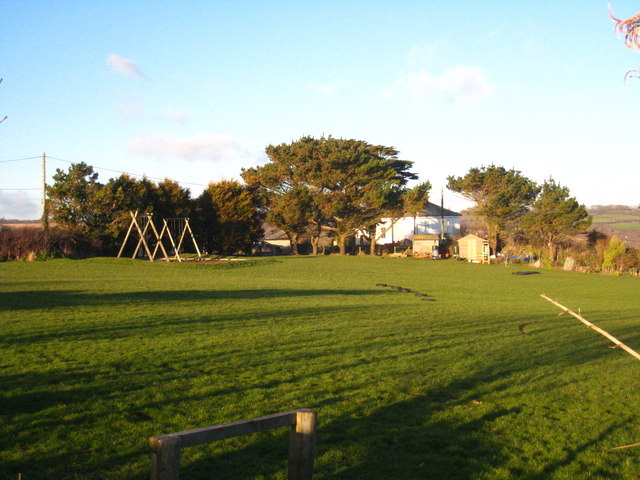 Coverack School playing field