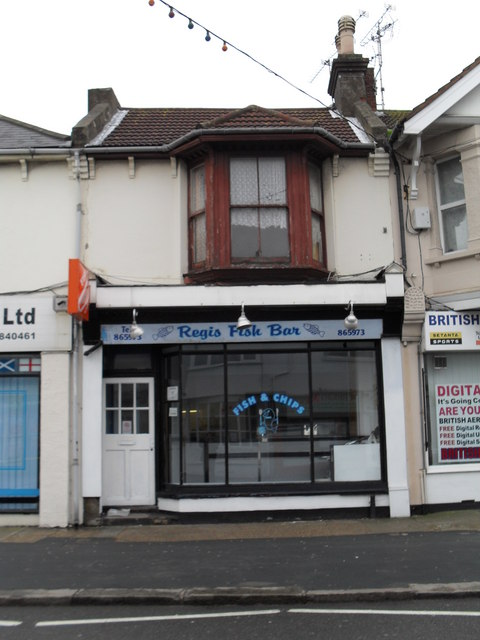 Regis Fish Bar in London Road