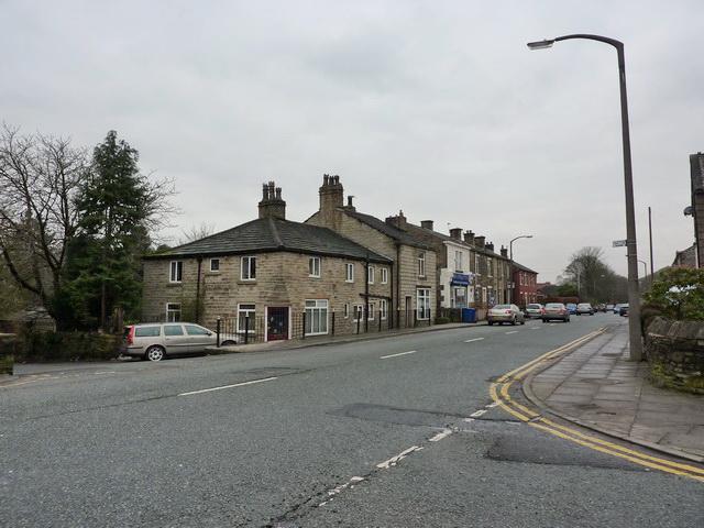 Bolton Road from Hawkshaw lane