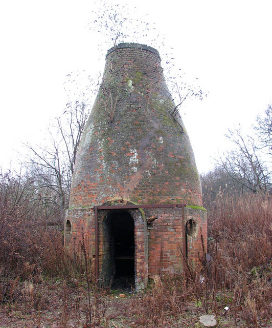 The Deal Ground - the old bottle oven