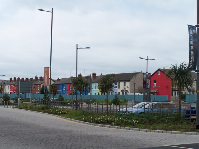 Hyde Road Houses, Blackpool - 1