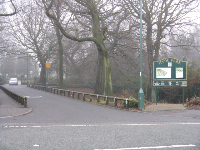 Entrance To Hyde Park