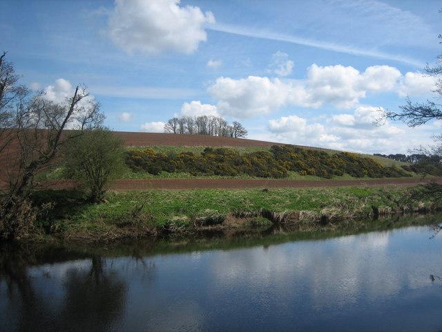 Looking across the River Eden