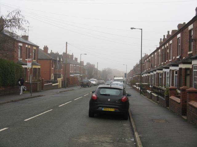 Lodge Lane On A Misty Day