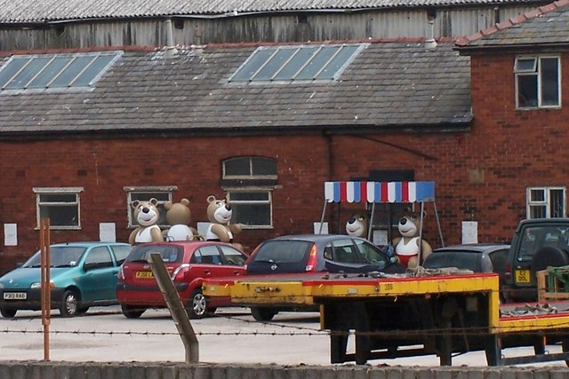 Bears in Jellystone Park or Blackpool? ... off Rigby Road, Blackpool
