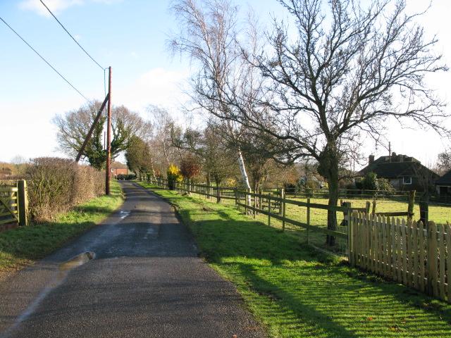 View E along Mill Lane