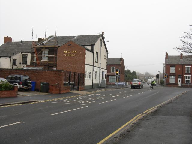 Rear Of The New Inn Pub