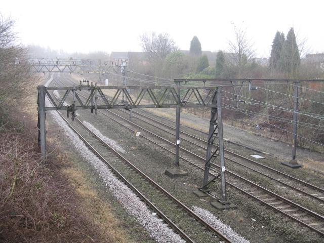Railway Lines From White Bridge