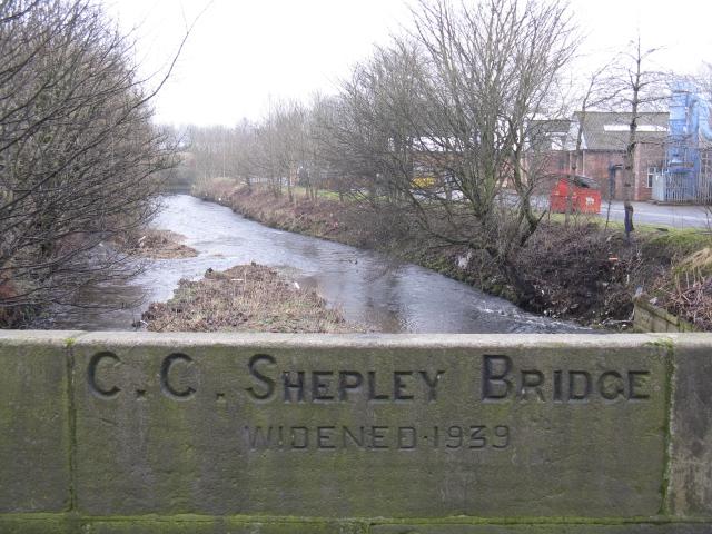 River Tame At Shepley Bridge