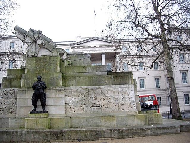 Royal Regiment of Artillery WW1 memorial