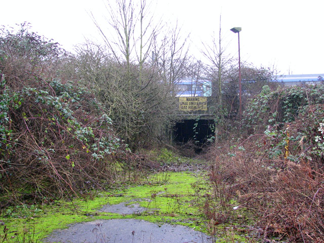 The Deal Ground - tunnel under the railway line