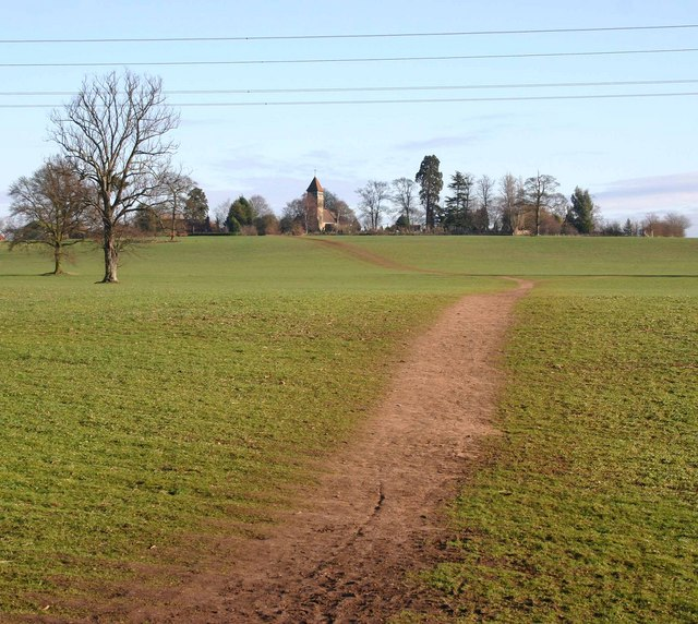 Footpath to Old Milverton
