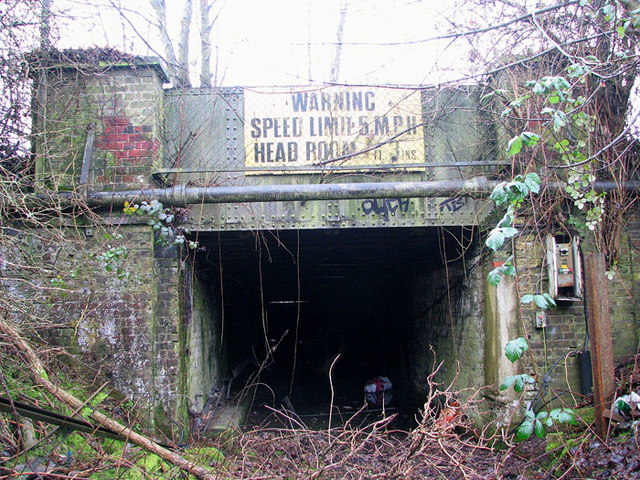 The Deal Ground - tunnel entrance