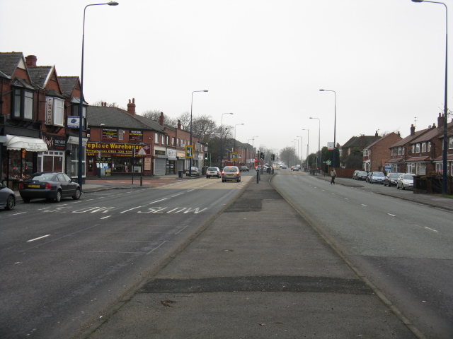 Manchester Road At The Borough Boundary